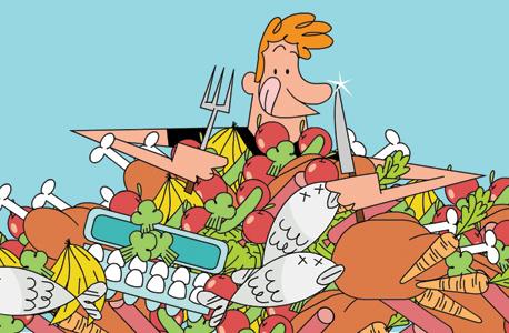 למה האדם צריך גם בשר וגם ירקות?