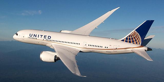 בואינג 787 של חברת יונייטד, צילום: youtube