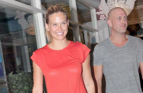 Bar Rafaeli and husband Adi Ezra. Photo: Anat Mosberg