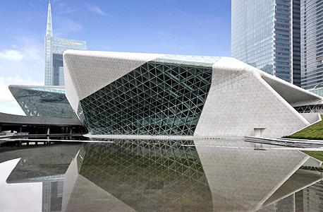 בית אופרה בסין שתכננה