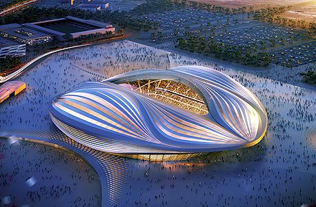 איצטדיון אל וואקרה בקטאר בתכנונה