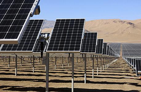 פאנלים סולאריים של חברת סאנאדיסון, צילום: רויטרס