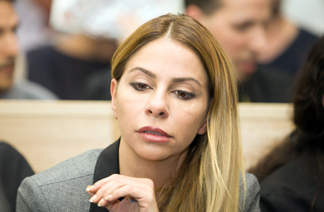ענבל אור בבית המשפט 4.4.16, צילום: אוראל כהן