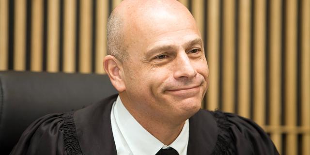 נשיא בית המשפט המחוזי בתל אביב השופט איתן אורנשטיין, הדן בעינינה של אור, צילום: אוראל  כהן