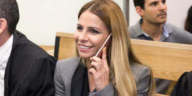 ענבל אור בבית המשפט השבוע, צילום: אוראל כהן