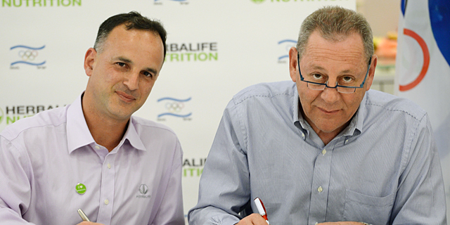 הרבלייף תעניק חסות לוועד האולימפי בישראל בשווי 1.5 מיליון שקל