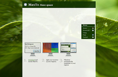 MaxTo, צילום מסך: maxto.net