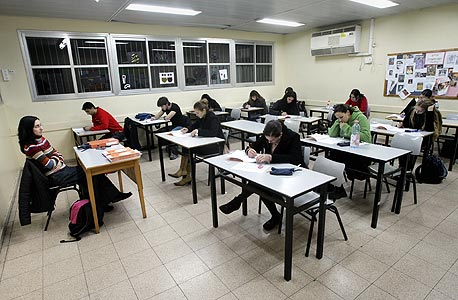Students at an Israeli school. Photo: Tal Shachar