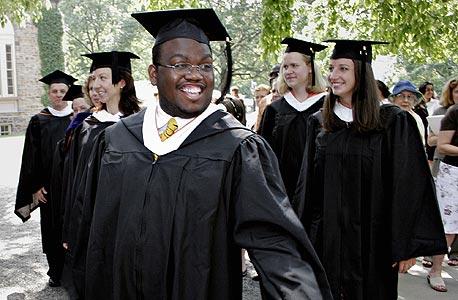 טקס סיום באוניברסיטת אוקספורד, צילום: בלומברג