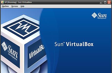 מסך האתחול של מערכת וירטואלית ב-VirtualBox