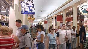 מרכז קניות בבוסטון, צילום: בלומברג