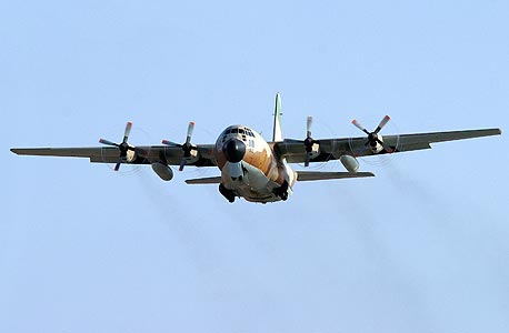 An Israeli Hercules aircraft. Photo: IAF