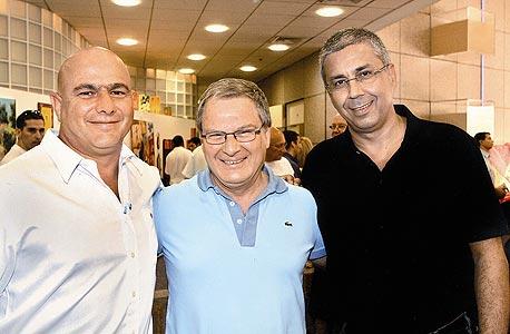 """מימין: קינן, זיו ודנקנר. המנכ""""ל החדש יביא גם שינוי טמפרמנט"""