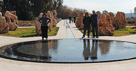 האנדרטה לחללי אסון המסוקים, צילום: אפי שריר