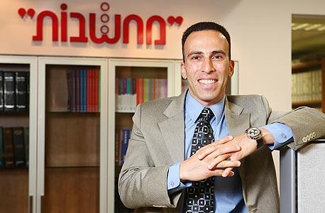 """מנכ""""ל """"מחשבות"""", אפי דלומי, צילום: אוראל כהן"""