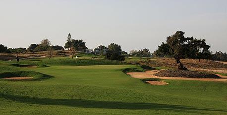 Golf course in affluent Israeli city Caesarea. Photo: Ian lloyd