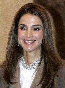 המלכה ראניה. שיעור במצוינות אינטרנטית