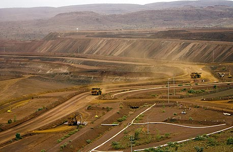 מכרה של ריו טינטו, צילום: בלומברג