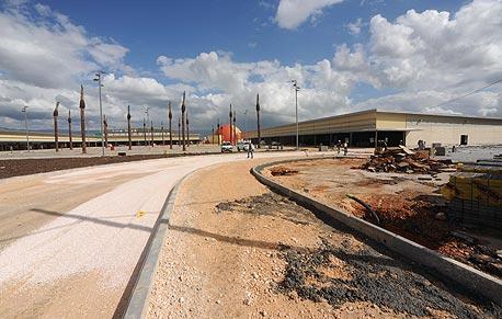 העליון קבע: חברת ביג תפסיק לאלתר את  בניית המרכז המסחרי בקריית שמונה