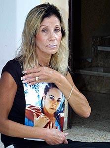 ויקי, אמה של דנה בנט. המשטרה שיתפה אותה בפרטים רבים