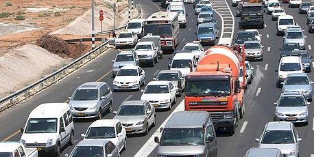 בגלל מחיר הסולר - מועצת המובילים תשבש התנועה בכבישים מיום ה'