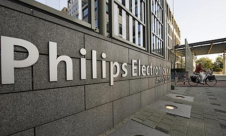 המשבר באירופה מגלח את הרווחיות של פיליפס
