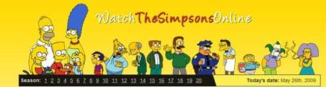 כל פרקי משפחת סימפסון ברשת