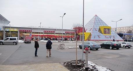 """מרכז מסחרי של חברת קסארו בהונגריה. """"אנחנו השחקנים היחידים בשוק הזה"""""""
