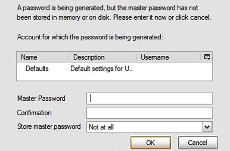 PasswordMaker יוצר את הסיסמה שלכם אוטומטית