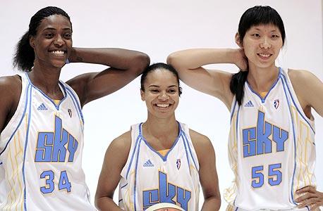 בשל המיתון: גם ב-WNBA מותר לפרסם על חולצות