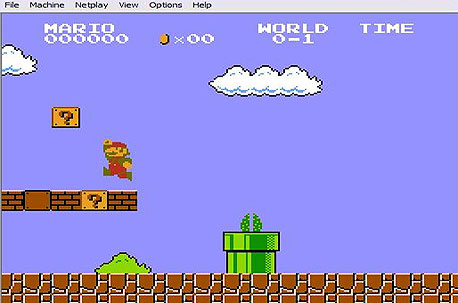 Super Mario Bros. ב-Nestopia