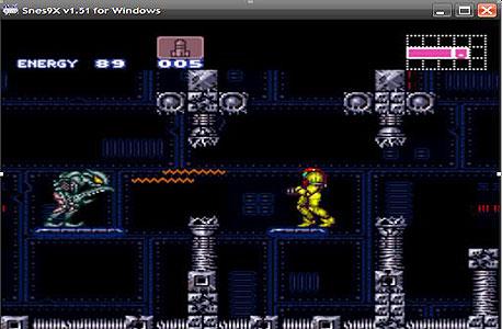 Super Metroid ב-Snes9x