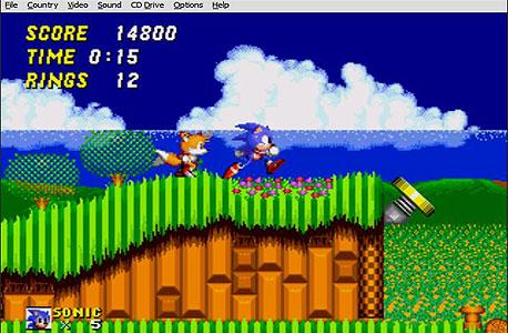 Sonic the Hedgehog 2 ב-Fusion