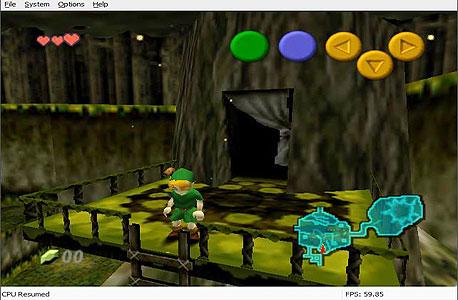 Legends of Zelda: Ocarina of Time ב-Project64