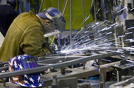 """מפעל תעשייתי בארה""""ב (ארכיון), צילום: בלומברג"""