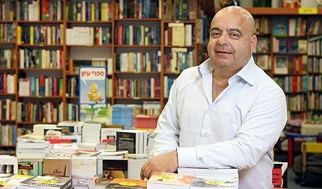 """אבי שומר, מנכ""""ל צומת ספרים, צילום: אוראל כהן"""