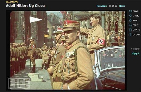היטלר בצבע. תחושה של מציאות איומה