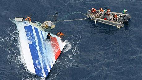 הכנף של מטוס אייר פראנס טיסה 447 שהתרסק ליד ברזיל