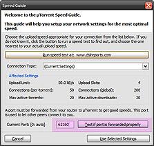 ה-Port של uTorrent
