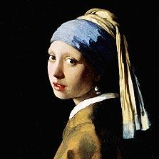 נערה עם עגיל פנינה, של יאן ורמר