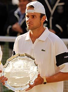 אנדי רודיק, הטניסאי הבכיר של המותג לקוסט, צילום: איי אף פי