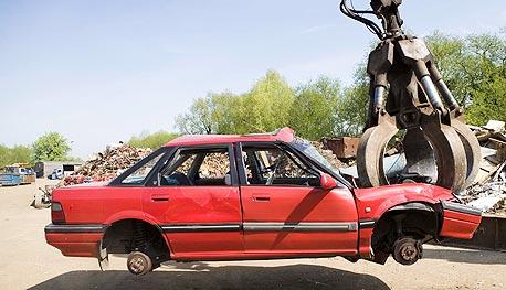משרד התחבורה: בתוך 3 ימים נגרטו 150 כלי רכב פרטיים
