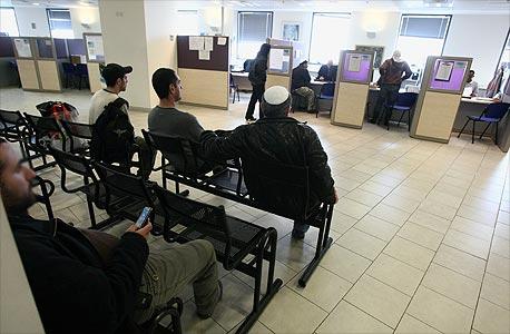 מובטלים בשירות התעסוקה, צילום: שאול גולן