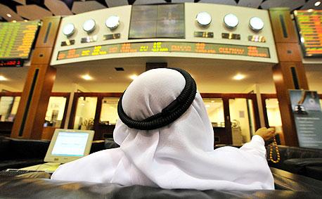 הבורסה של דובאי, צילום: בלומברג