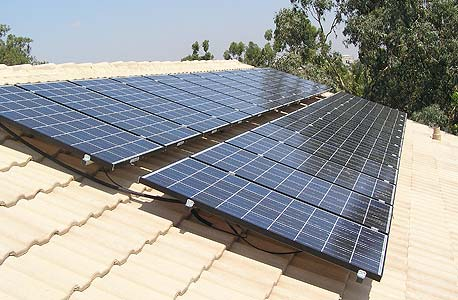 מתקן סולארי, באדיבות חברת סולאר פאוור