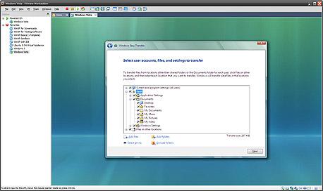 אפשרויות גיבוי מתקדמות עם Windows Easy Transfer