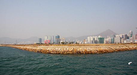 מסלול נחיתה בנמל התעופה של הונג קונג