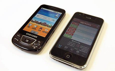 סמסונג גלקסי לצד האייפון. תחליף הולם