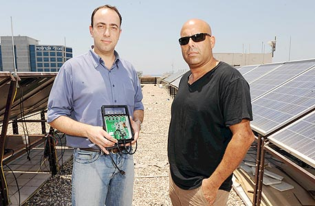 מייסדי סולאראדג' גיא סלע וליאור הנדלסמן