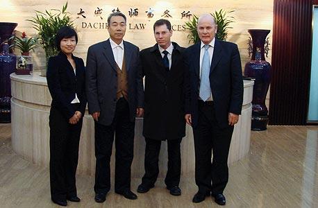 שיתוף פעולה בין שבלת למשרד עורכי הדין הגדול באסיה